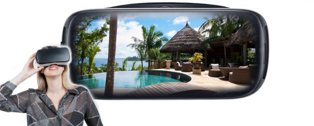 Virtual reality voor toerisme