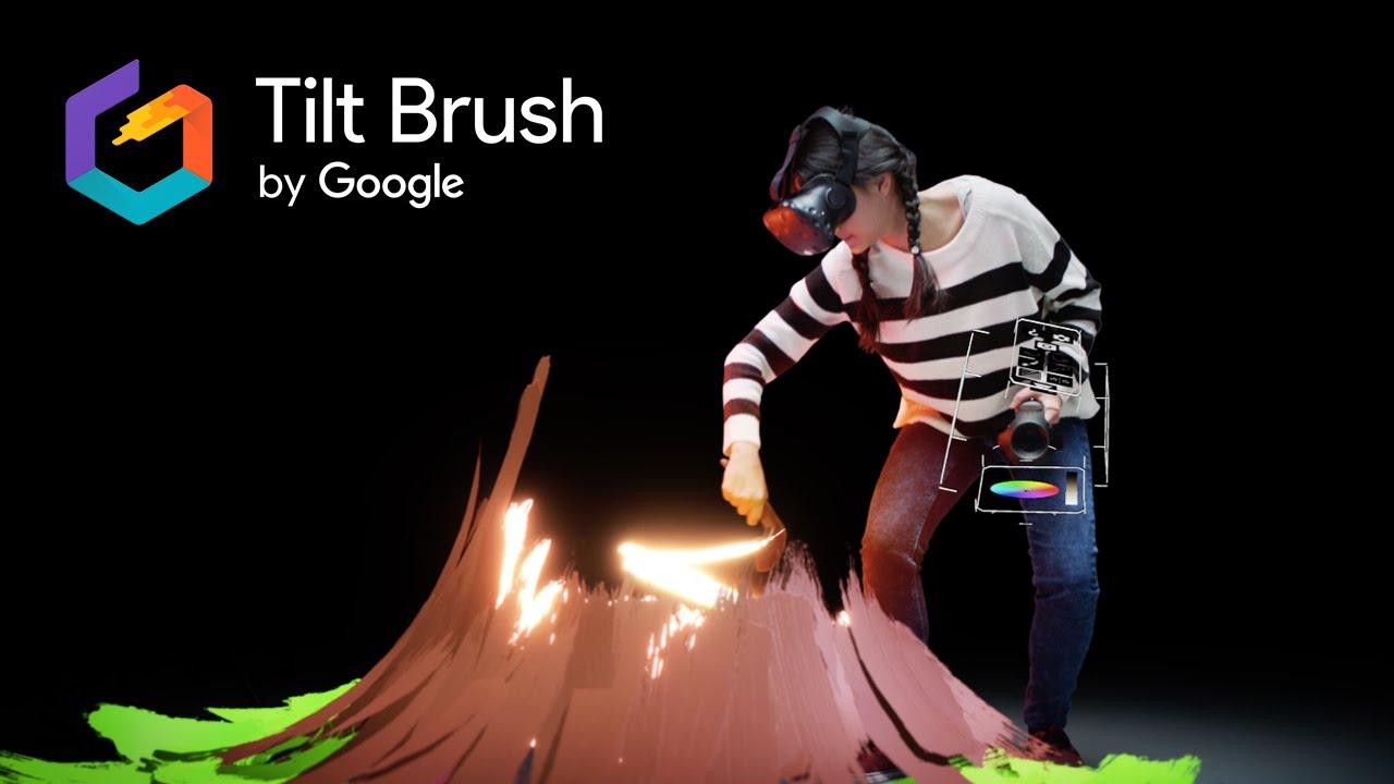 Google Tilt Brush - the digital paint brush for the virtual world
