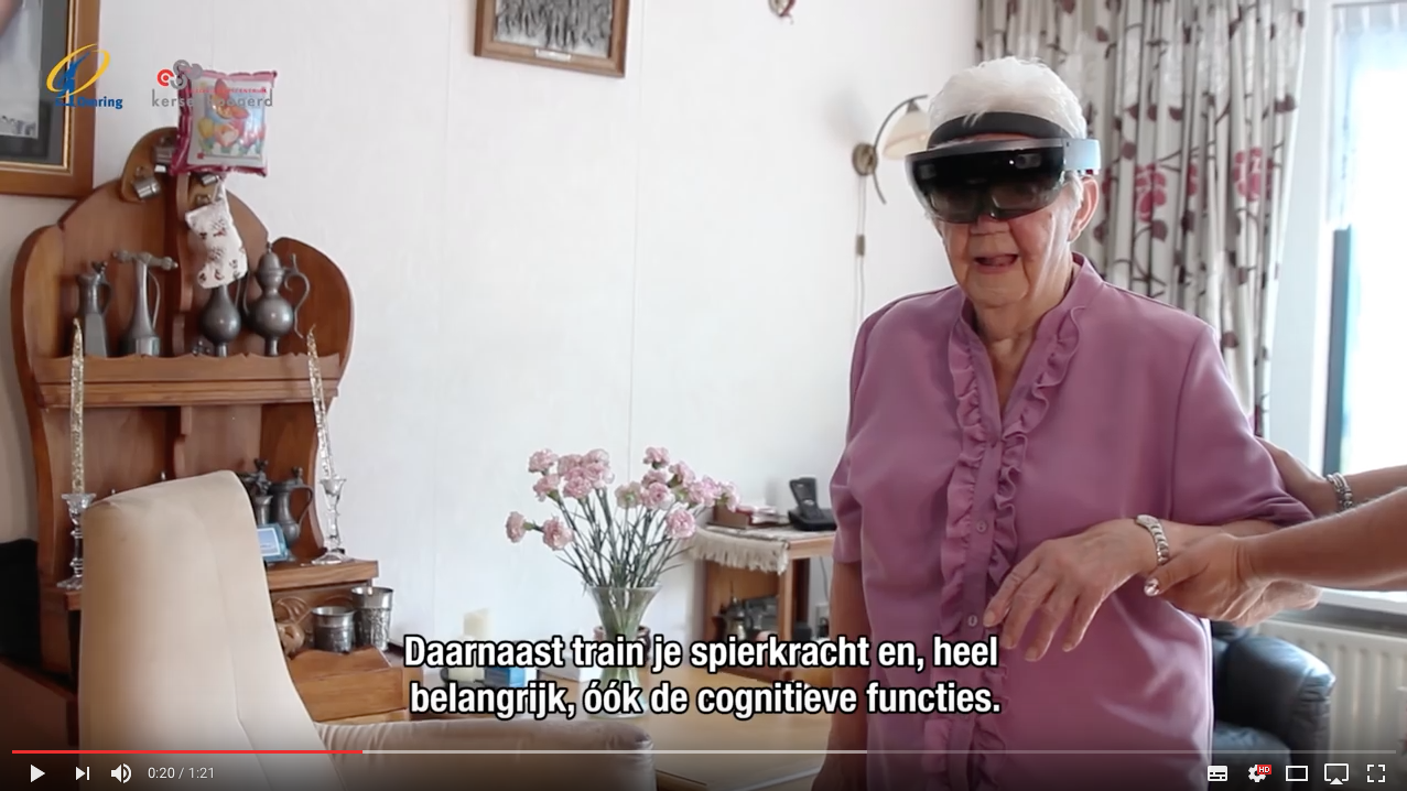 Hololens iin healthcare in The Netherlands