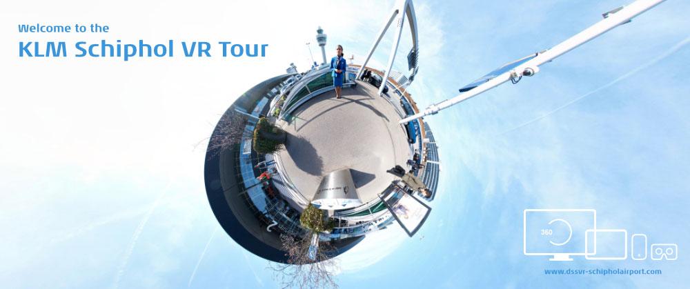 KLM Schiphol VR Tour