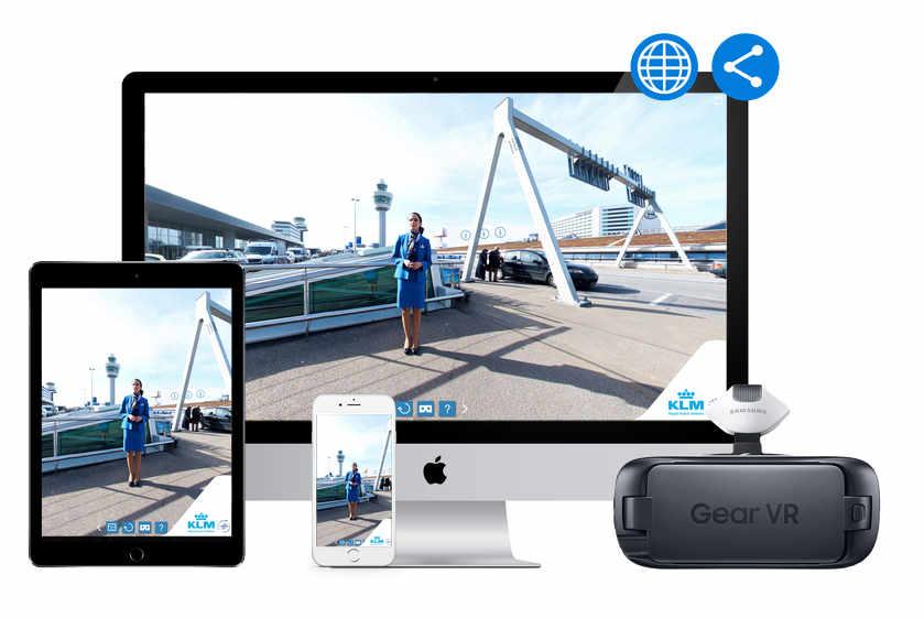 Virtual Reality Tour - KLM