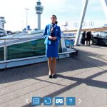 KLM Royal Dutch Airlines virtual reality