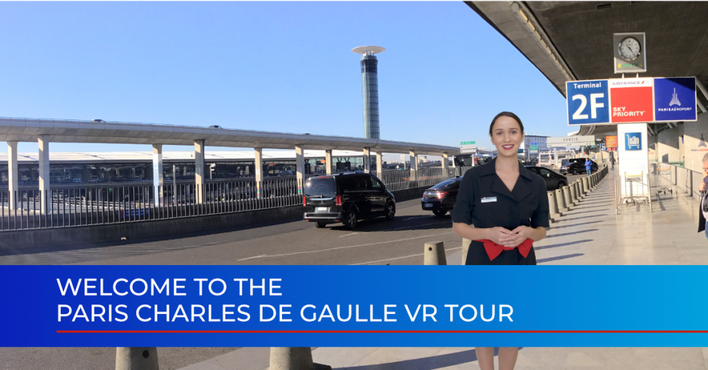 Virtual reality training voor Air France