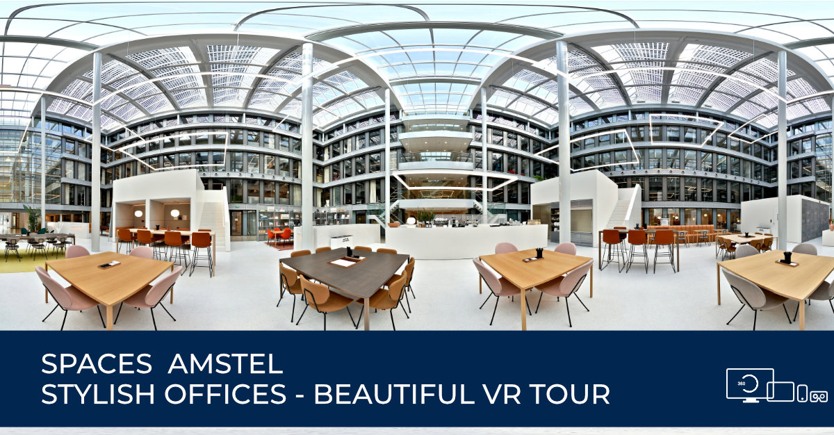 Virtuele rondleiding - Spaces Amstel