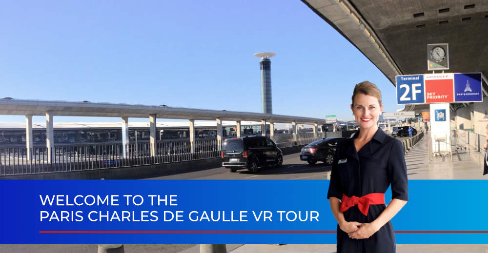 Paris CDG VR Tour (for Air France)