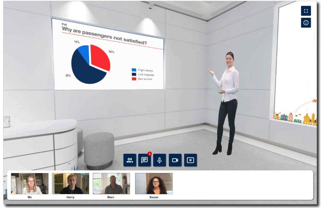 3D Virtual Classroom, een compleet nieuw aanpak