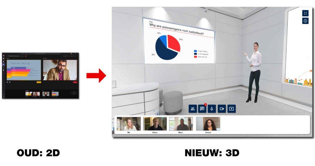 3D Virtual Classroom - Een compleet nieuwe aanpak