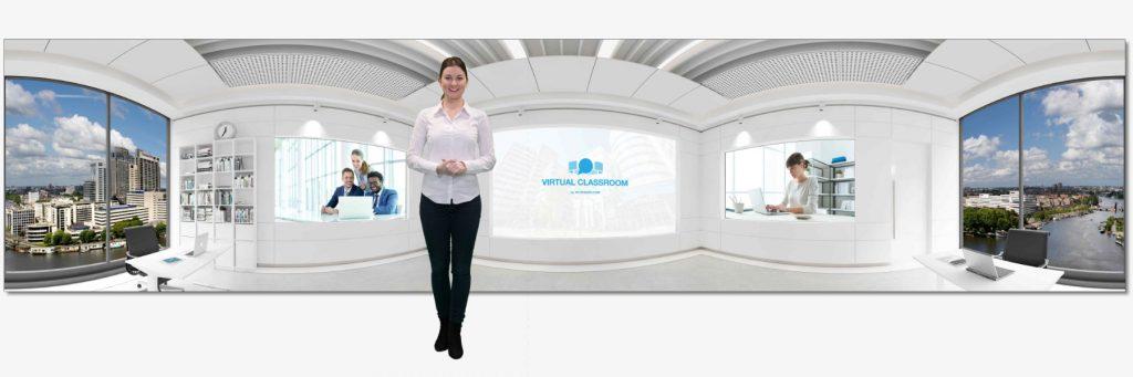 Introductie 3D Virtual Classroom (van VR-Spaces)